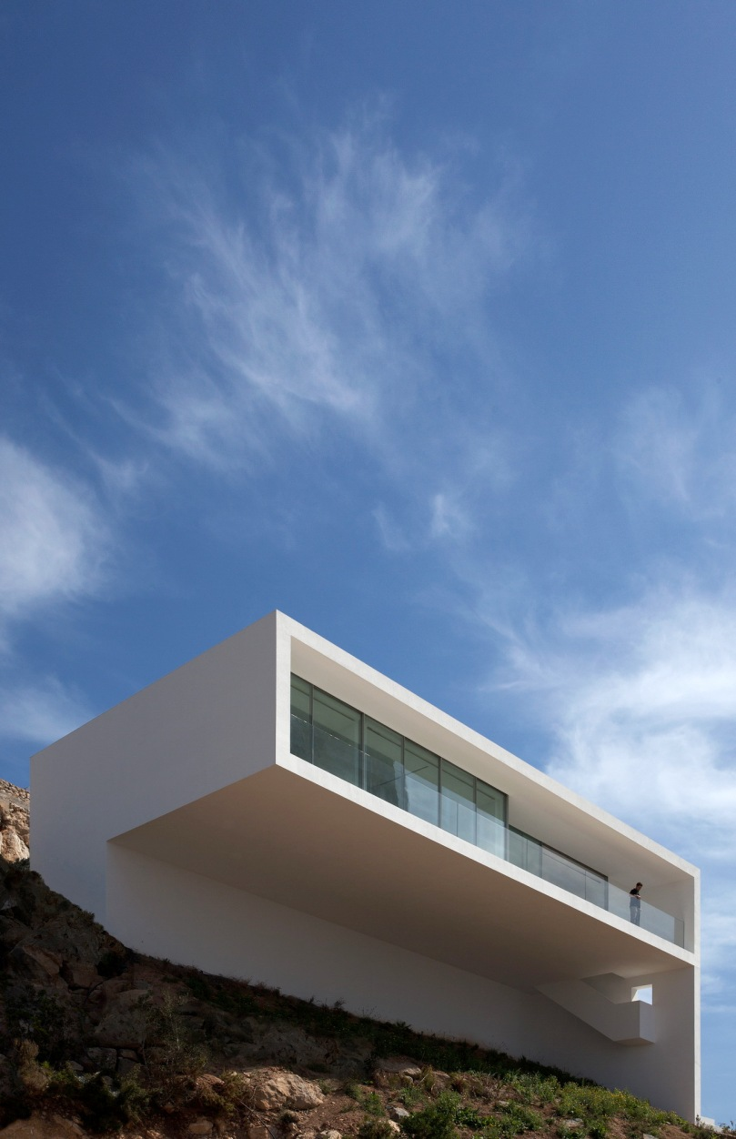 3.afran silvestre arquitectos - House on the Cliff