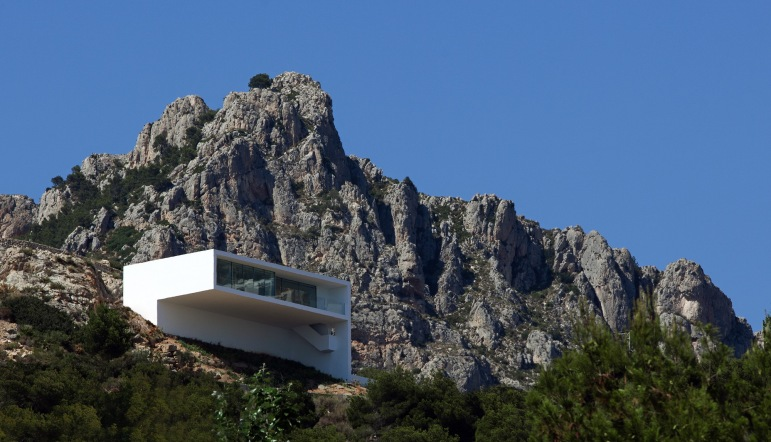 3fran silvestre arquitectos - House on the Cliff