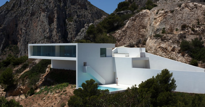 4fran silvestre arquitectos - House on the Cliff