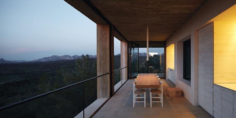 4pezo von ellrichshausen Architects - solo house casa pezo