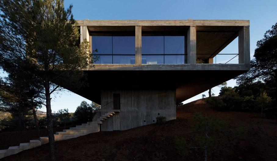 9pezo von ellrichshausen Architects - solo house casa pezo