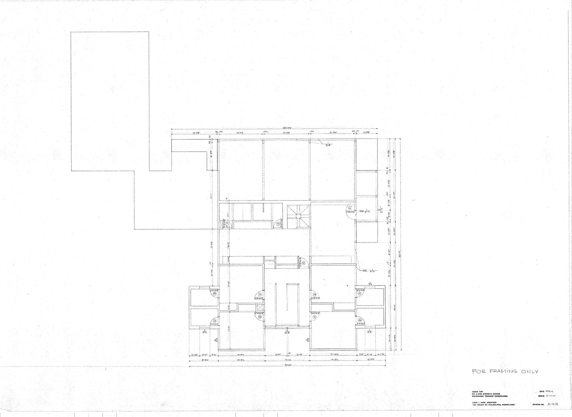 Korman house plan