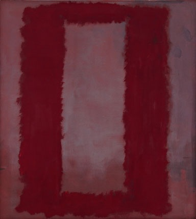 Red on Maroon Mural 1959 - Section 4