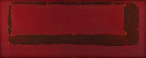 Red on Maroon Mural 1959 - Section 5