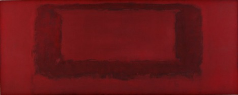 Red on Maroon Mural 1959 - Section 74