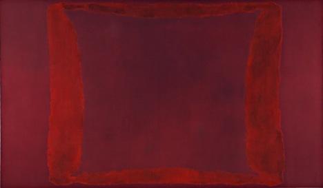 Red on Maroon Mural 1959